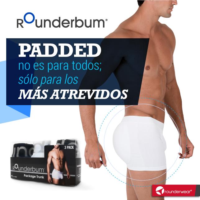 e25849e8 Rounderbum Padded no es para todos... #Rounderwear #Rounderbum #Underwear #
