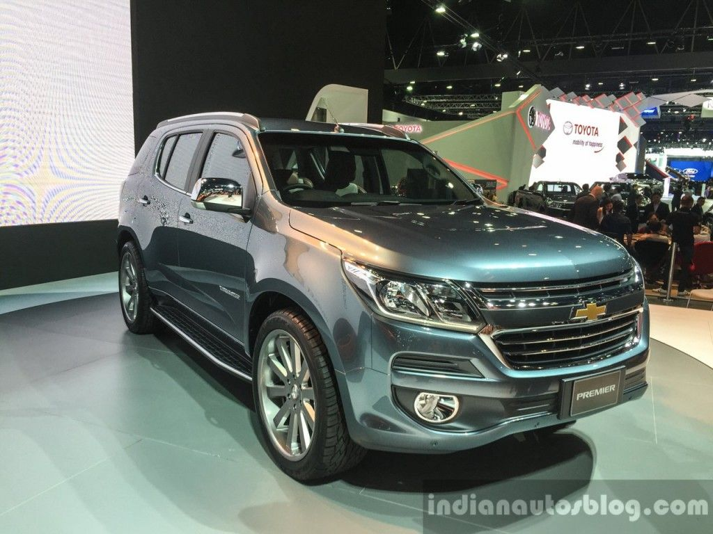 Slideshow 2016 chevrolet trailblazer premier facelift unveiled 2016 chevrolet trailblazer premier facelift unveiled at bangkok motor show the