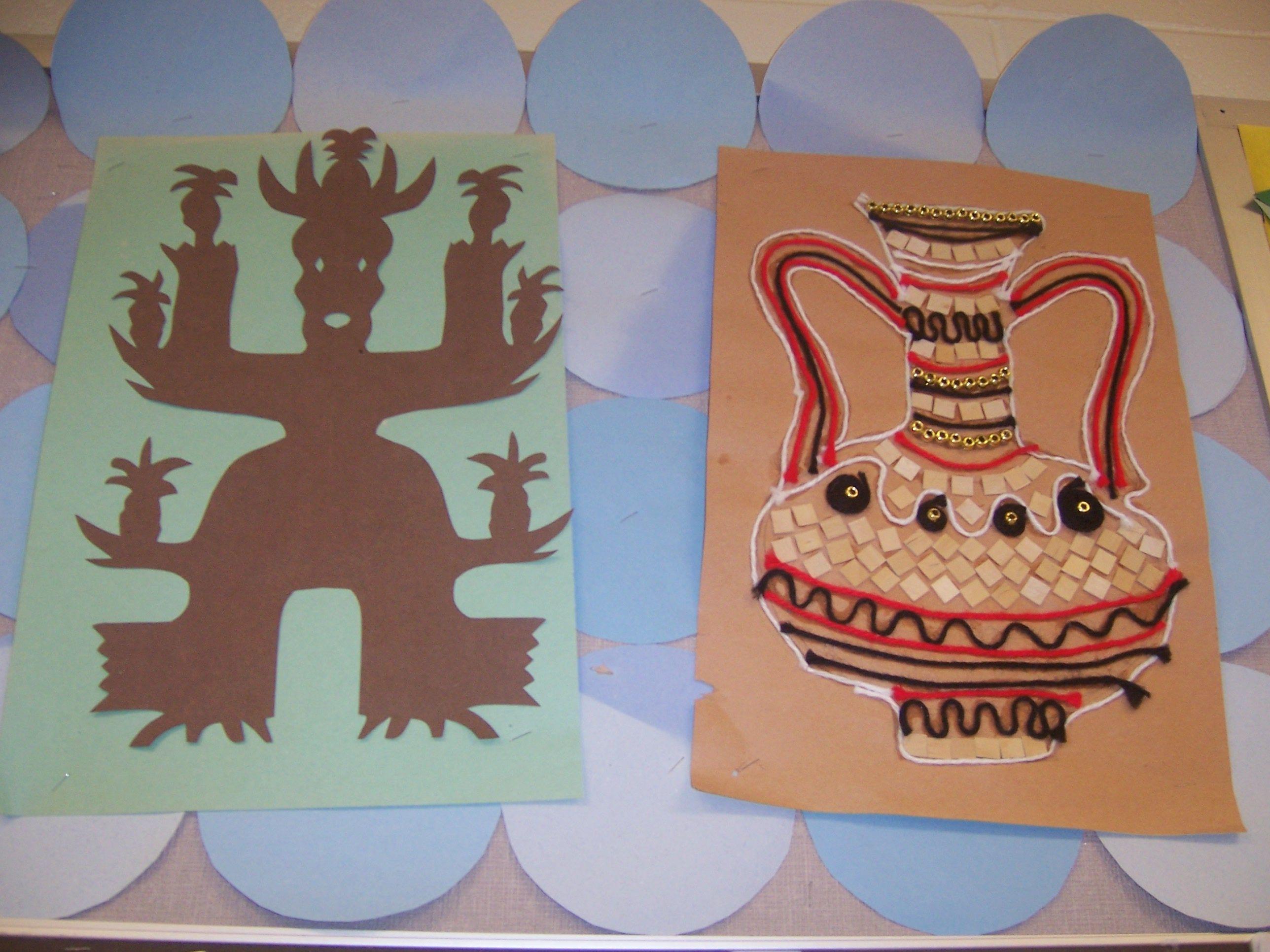 Symmetry Project Examples (Art Teacher V Giannetto)