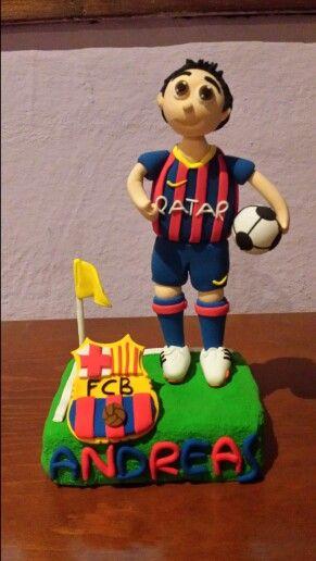 Andreas ya tiene su muñeco del Barça!
