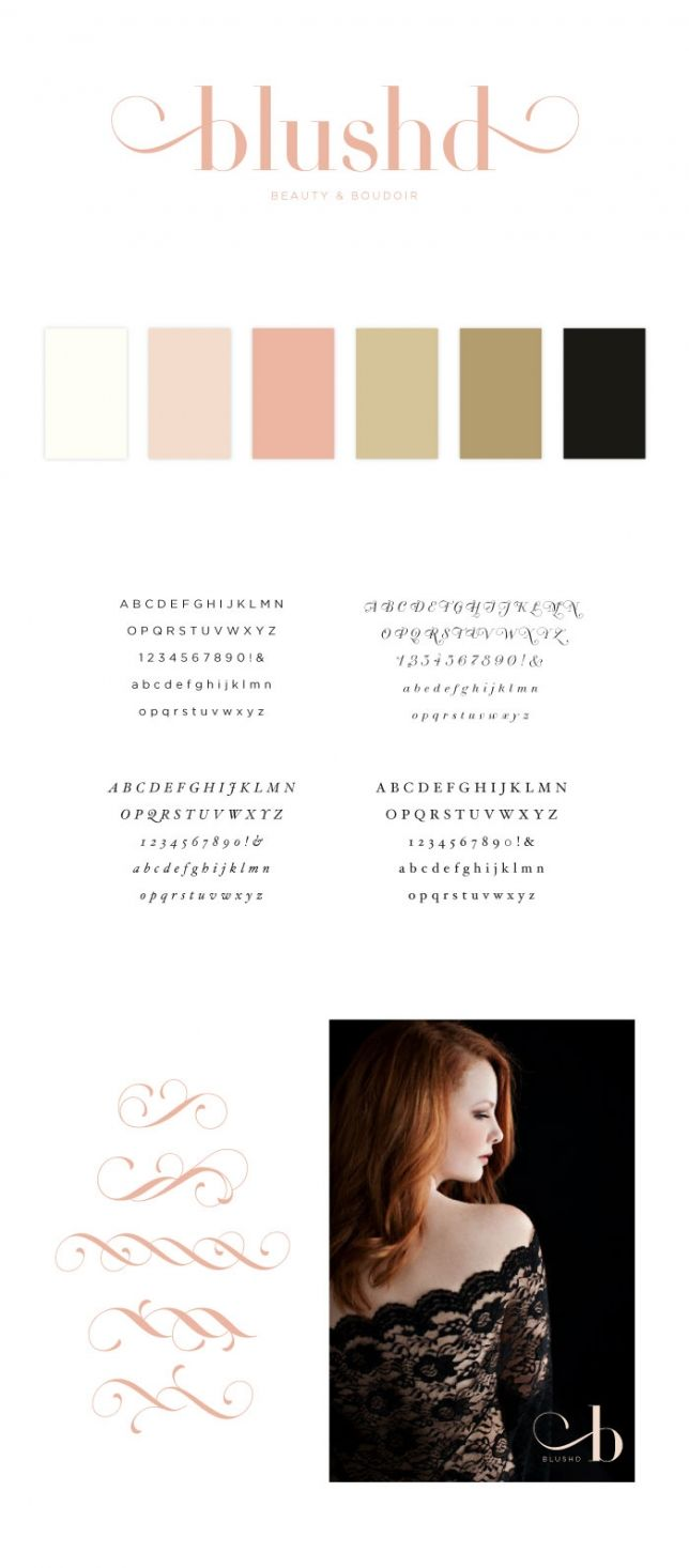 Blushd Brand Board