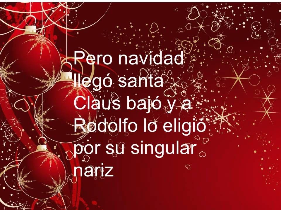 Canciones de navidad rodolfo el reno belinda