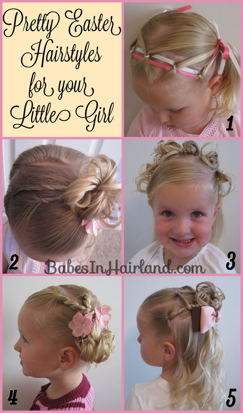 pretty easter hairstyles from babesinhairland easter
