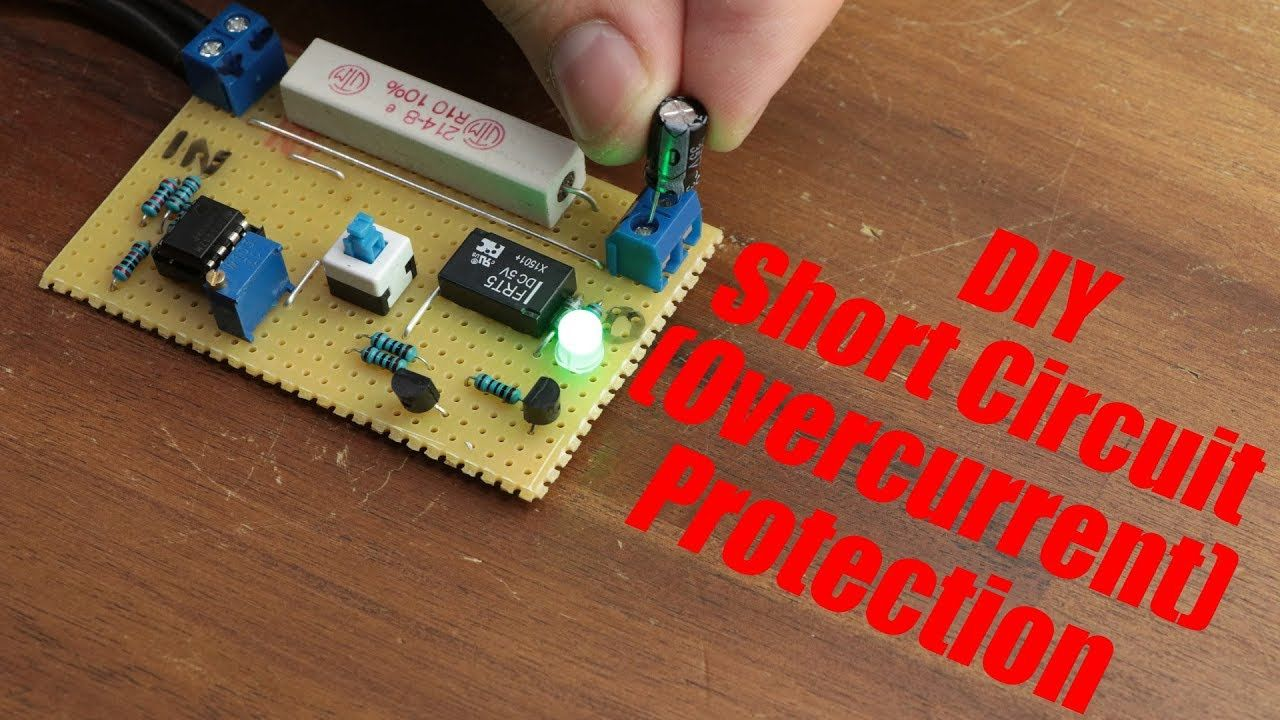 In This Project The Presenter Will Show You How To Create A Simple Capacitor Circuit And Current Flow Electronics Forum Circuits I That Can Interrupt Load When Adjusted Limit Is Reached