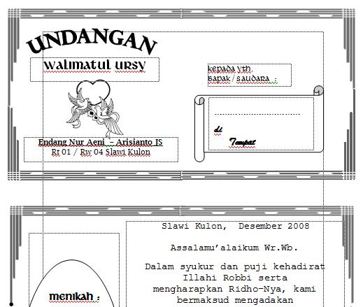 6600 Koleksi Foto Download Desain Undangan Pernikahan Word HD Paling Keren Download Gratis
