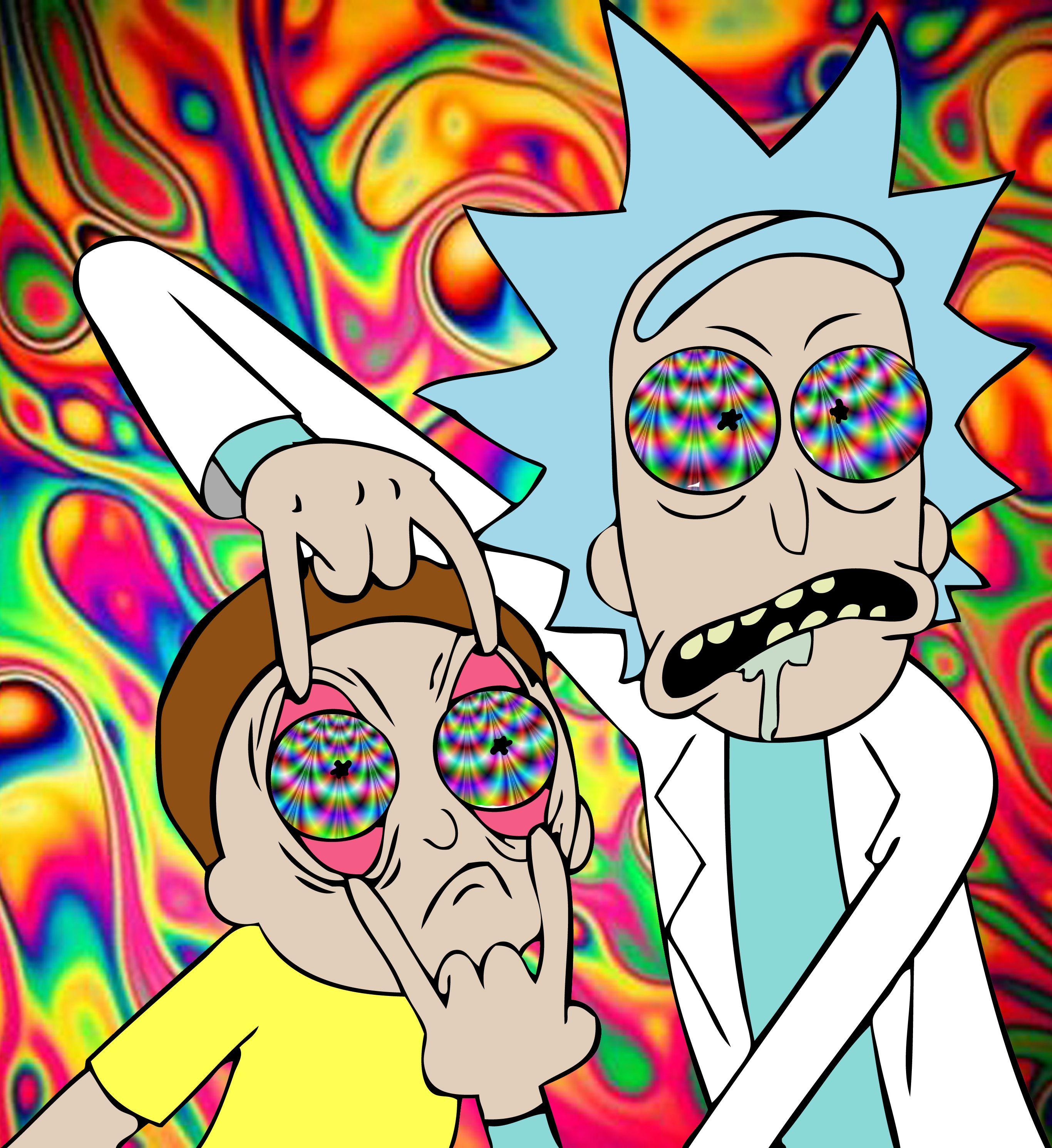 Cartoon Characters Getting High : Afbeeldingsresultaat voor rick and morty design sth