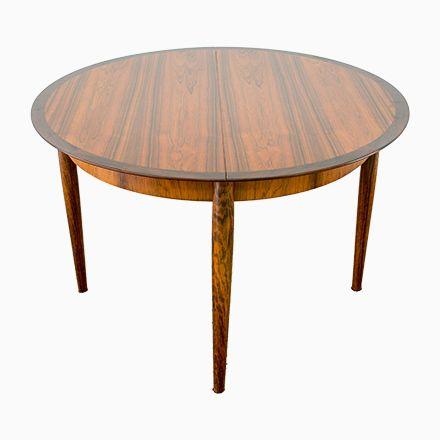 Ausziehbarer Tisch aus Palisander von Lübke, 1960er Jetzt bestellen