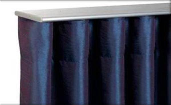 300cm Air Curtain Track Perfect Pleat Top Ceiling Fix Satin