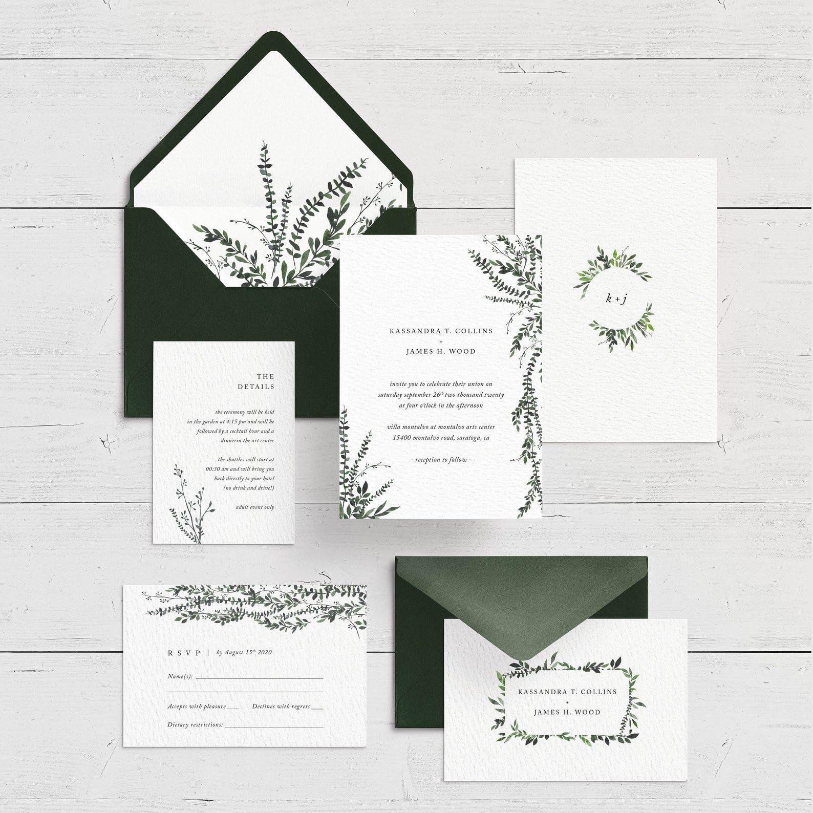Printable Wedding Invitation Set Modern Wedding Invitation Etsy In 2021 Printable Wedding Invitations Modern Wedding Invitations Etsy Wedding Invitations