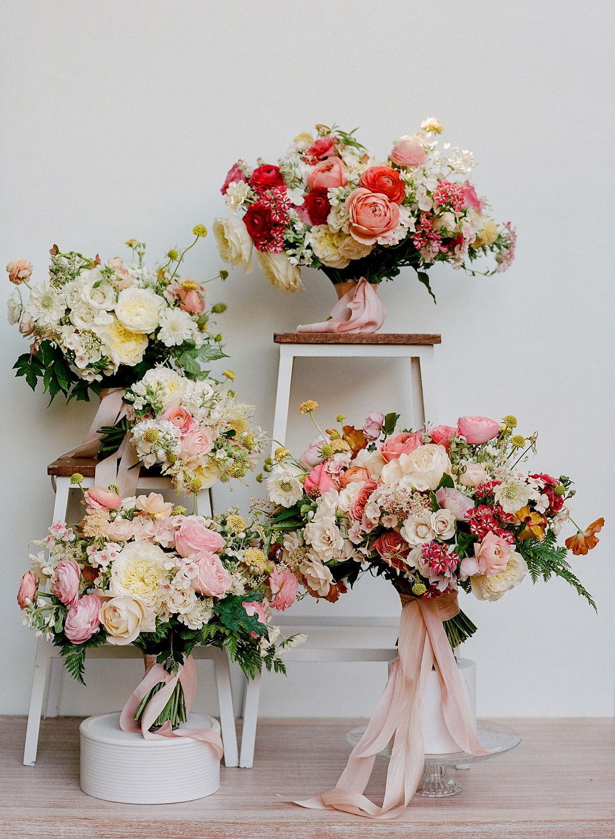 Rose Wedding Bouquets for Every Budget—from 100 to 500
