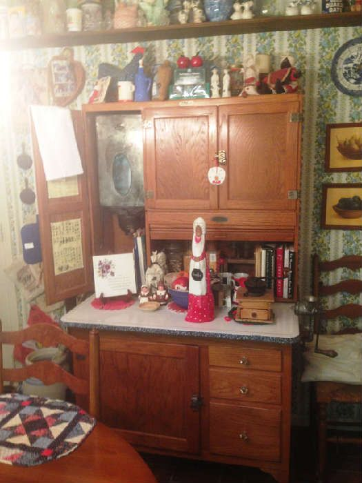 Found on EstateSales.NET: Sellers Hoosier cabinet with ...