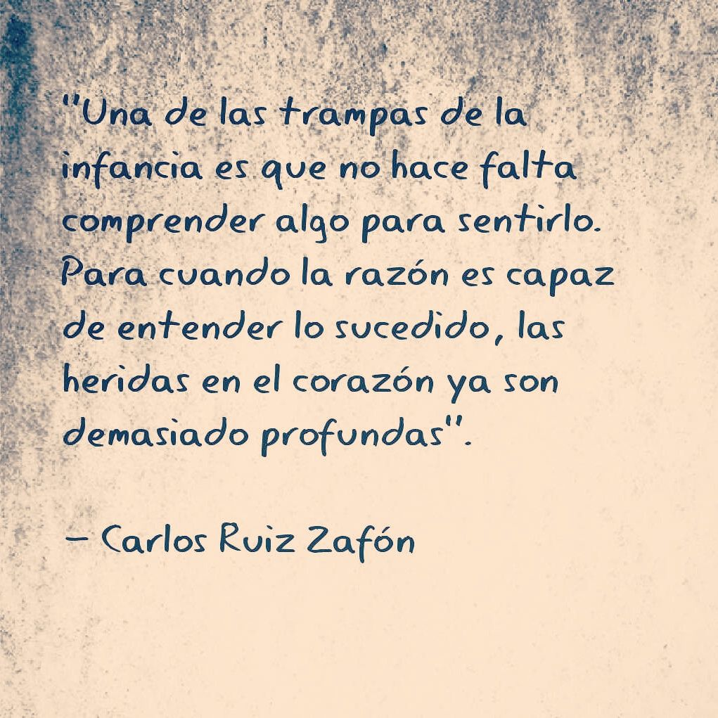 Carlos Ruiz Zaf³n La sombra del viento heridas del coraz³n