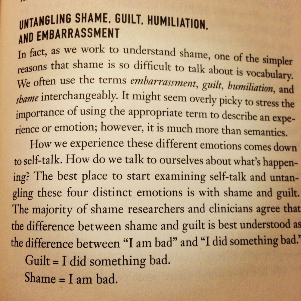 Articles By Brene Brown Brene Brown Quotes Guilt