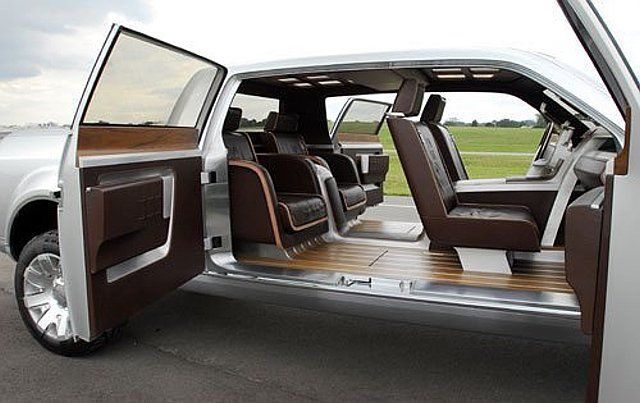 Ford Super Chief Doors