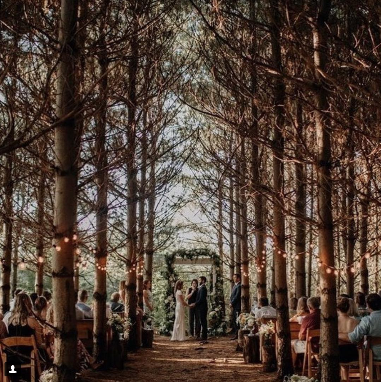 Outdoor Wedding Spots Near Me: Orchard House Granville
