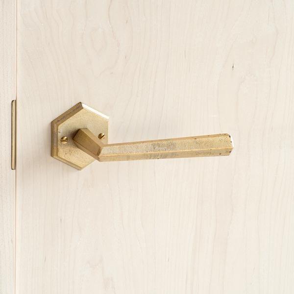 Hex Lever Door Handles Door Hardware Brass Door
