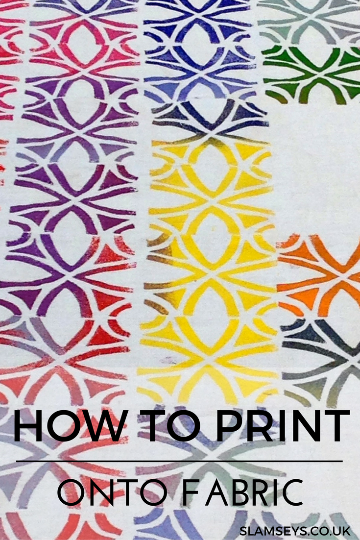 How to block print onto fabric 0648c93017d5