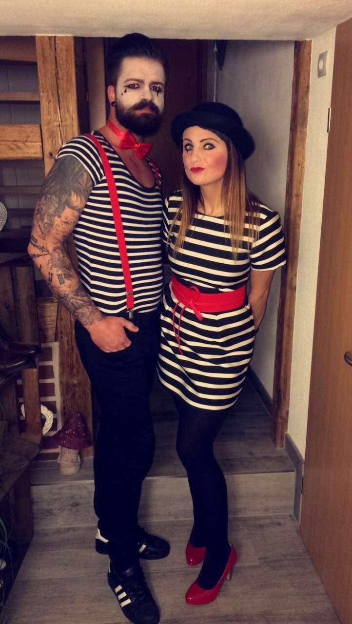 #Fasching # Paar Kostüm #Pantomime | Karneval kostüm