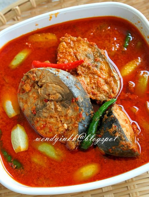 Tuna Curry Gulai Ikan Tongkol Terengganu Malaysian Food Desserts Malaysian Food Food