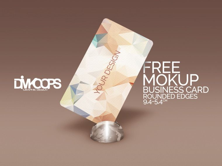 Check out this rounded edges free business card mockup template you check out this rounded edges free business card mockup template you can edit the color and design easily thanks to the smart objects friedricerecipe Gallery