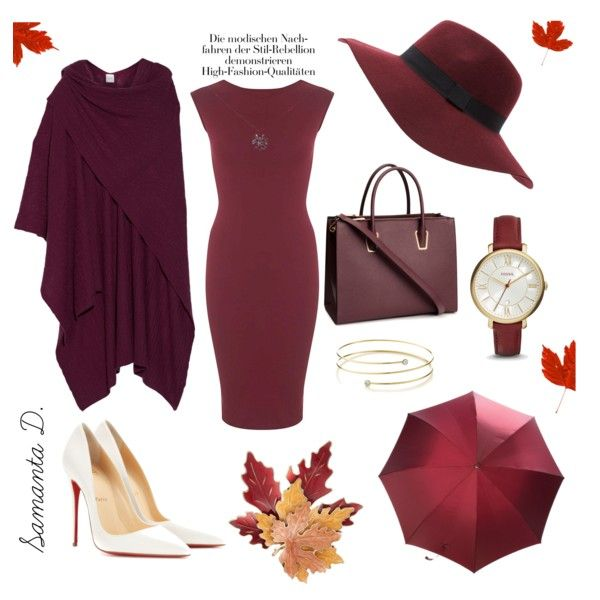 A fashion look from October 2015 featuring Miss Selfridge dresses, Christian Louboutin pumps and H&M handbags. Browse and shop related looks.