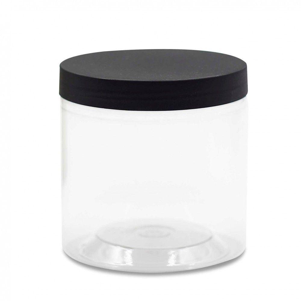 علبة بلاستيك بغطاء أسود 350مل رقم الصنف 4d 489 متوفر بالمخزون 1 50 ر س Trash Can Canning Small Trash Can