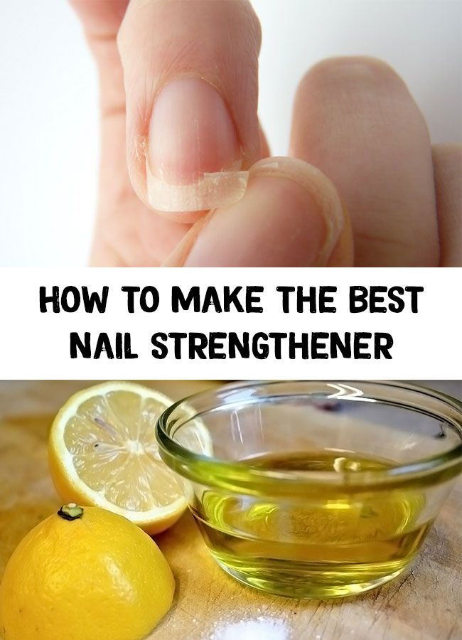 Nail strengthener - How to make the best nail stre