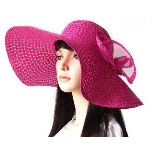 Chapeau mauve