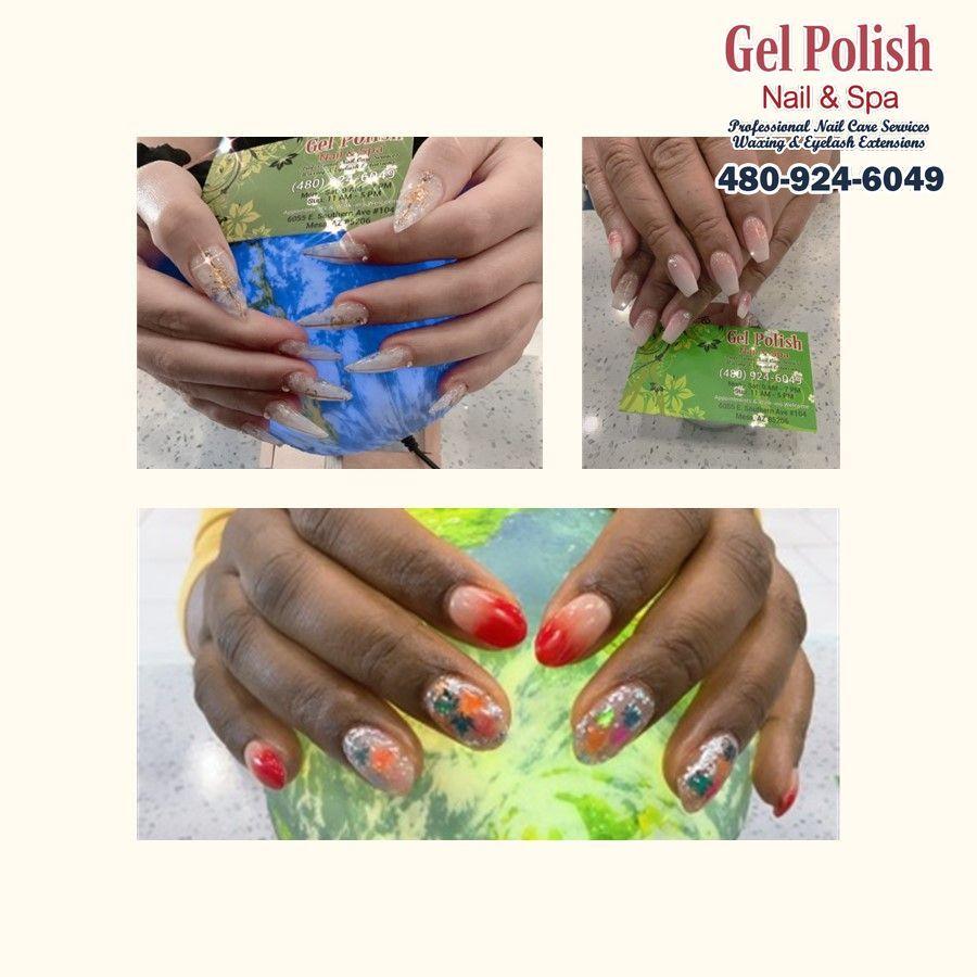 Gel Polish Nails And Spa Nail Salon Mesa Az 85206 Nail Spa Gel Nail Polish Gel Polish