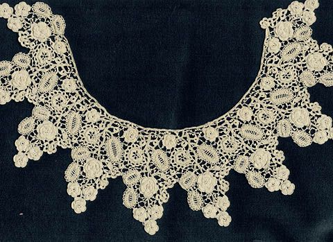 Masterpieces Of Irish Crochet Lace Techniques Patterns Lace