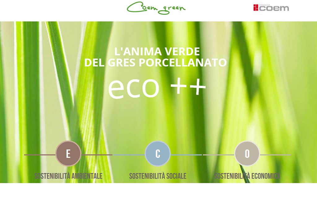 "In September 2013 www.coemgreen.it/en/ was created: an up-to-date and safe reference for all those desirous of knowing more about COEM's #green policy, our #environmental and social policies, the #certifications and the products that can use the ""#eco"" prefix or the adjective, ""green""."