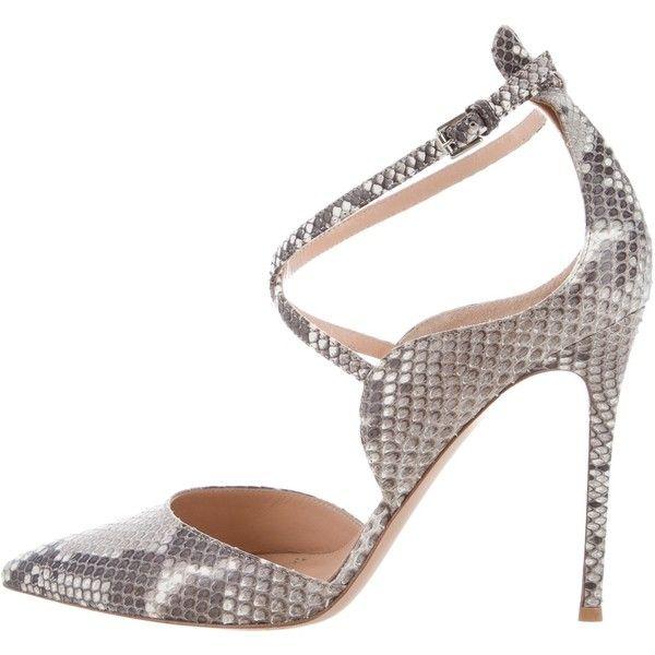 Pre-owned - Python heels Gianvito Rossi 6stLo