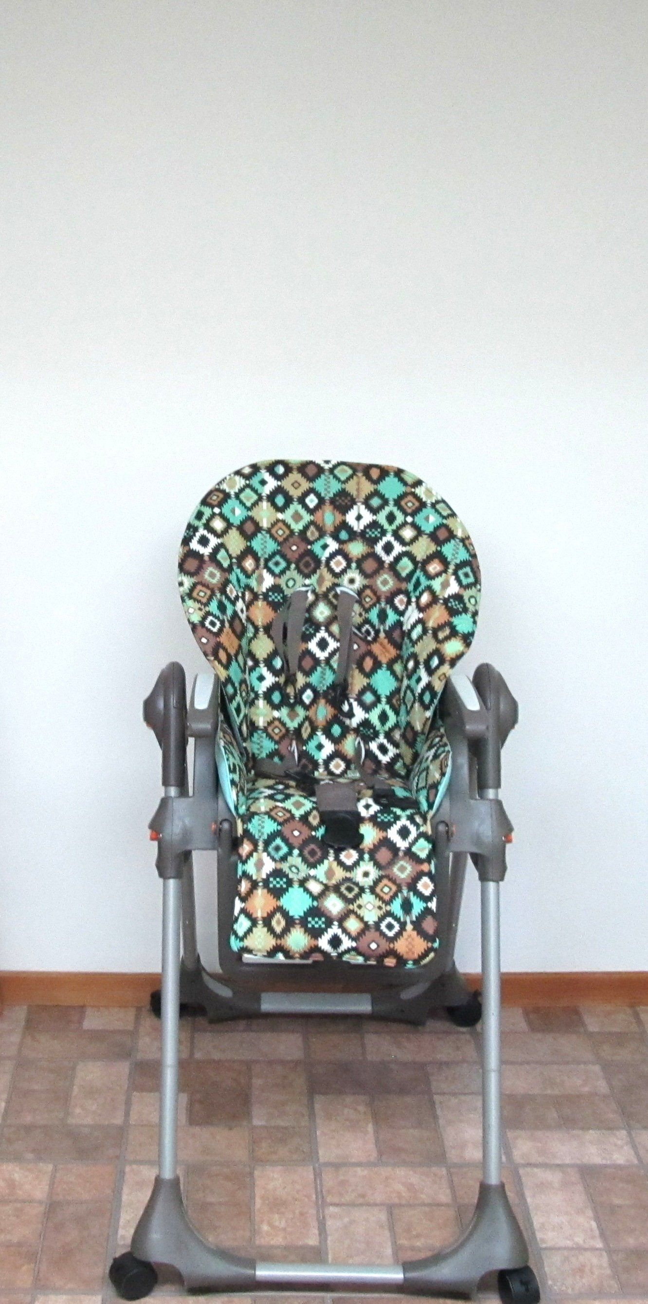 Chicco Polly replacement high chair cover southwest print