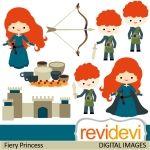 Fiery Princess