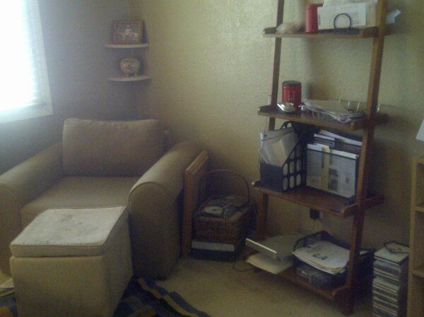 my home office cozy-corner