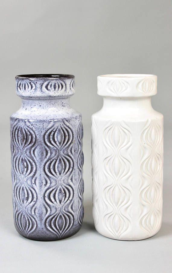 Reserved For Janni Vintage Vasen Scheurich Onion 70er Jahre Etsy Vintage Vases West German Pottery Ceramic Vases