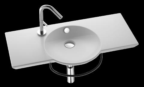 plan vasque 100 cm jacob delafon france 475 - 100 Cm Plan Vasque