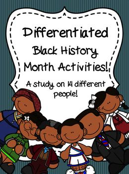 Photo of Black History Month Differentiated Activities