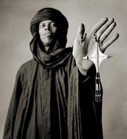 Traditional Tuareg jewelry made by the Koumama family