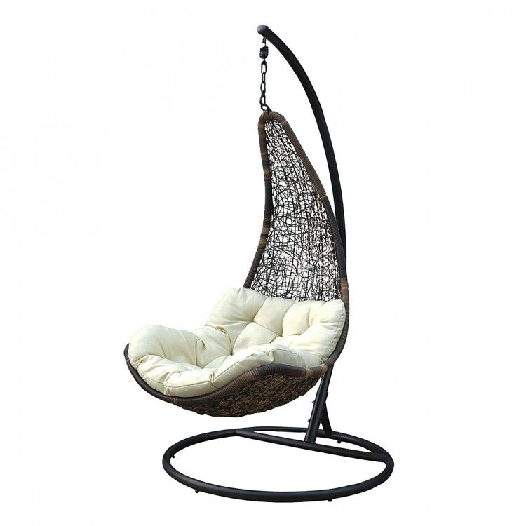 Relax Hangesessel Jungle Looba Aus Polyrattan In Braun Ikea Chair Ikea Hanging Chair