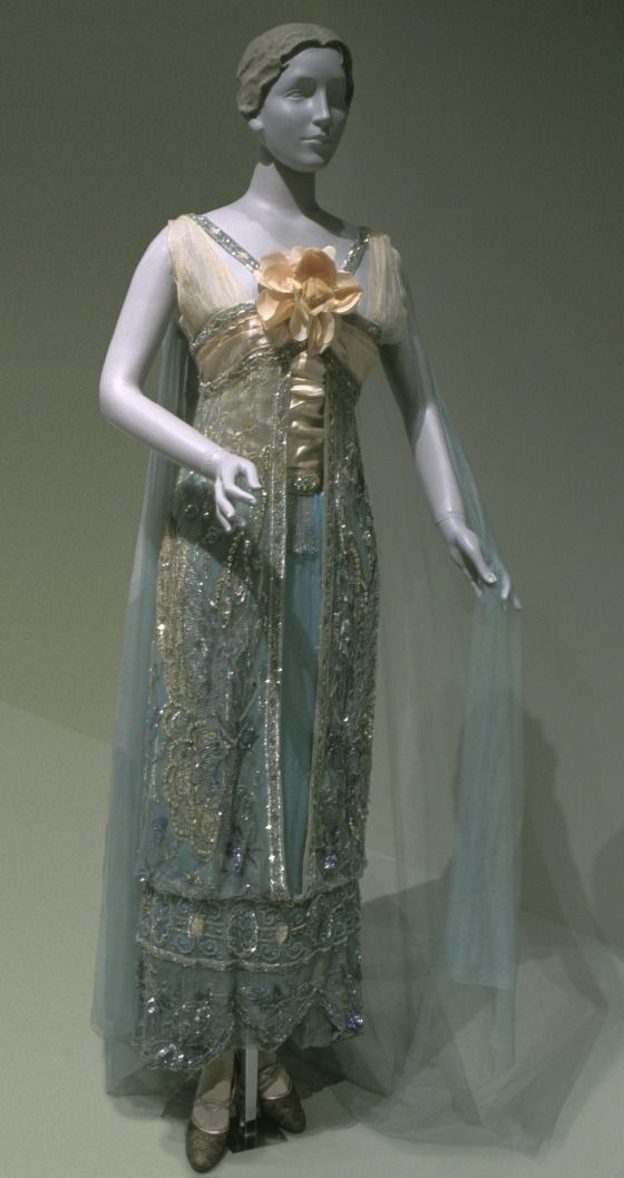 Woman's Evening Dress Callot Sœurs ((Couture house) France, Paris, circa 1890-circa 1950) France, circa 1912