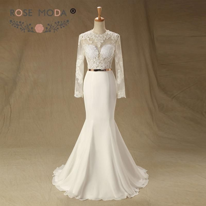 fa4f3c5f5c4 Item Type  Wedding Dresses Back Design  Zipper Sleeve Length(cm)  Full  Train  Court Train Model Number  wedding dress lisette15 Built-in Bra  Yes  ...