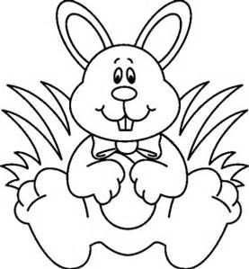 Free Easter Clipart Blank and White 2020 Download in 2020