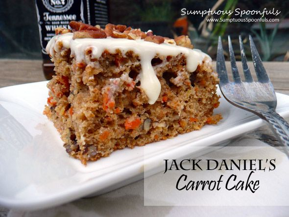 Jack Daniels Carrot Cake with Heavenly Frosting Recipe