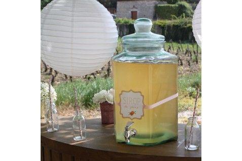 fontaine boisson f te enfants bonbonne candy bar limonadi re c 39 est la f te. Black Bedroom Furniture Sets. Home Design Ideas