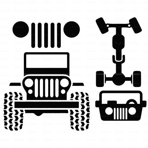 Jeep svg Car svg Jeep svg files for cricut ai Files dxf Files