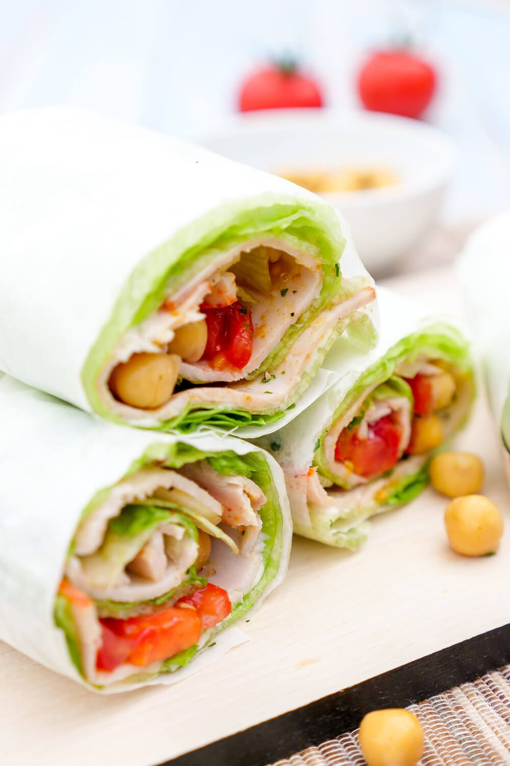 Photo of Low carb salad wraps – healthy finger food for the lunch box