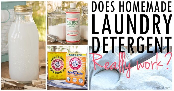 Natural Homemade Laundry Detergent Homemade Laundry Detergent