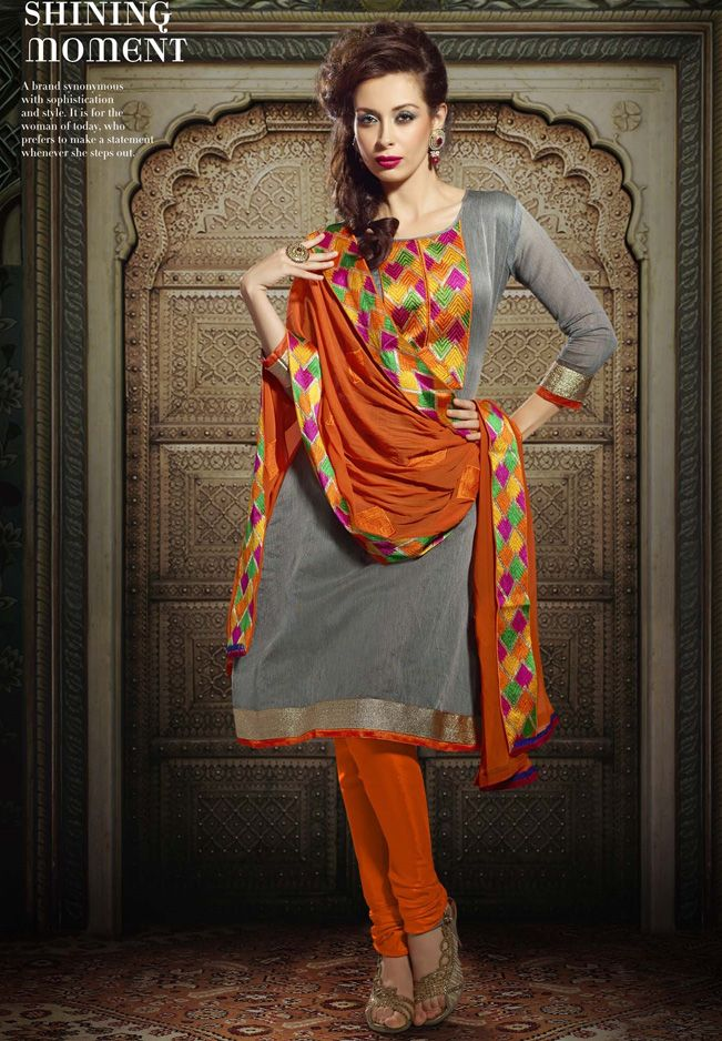 designer punjabi patiala salwaar suits mirror thread work