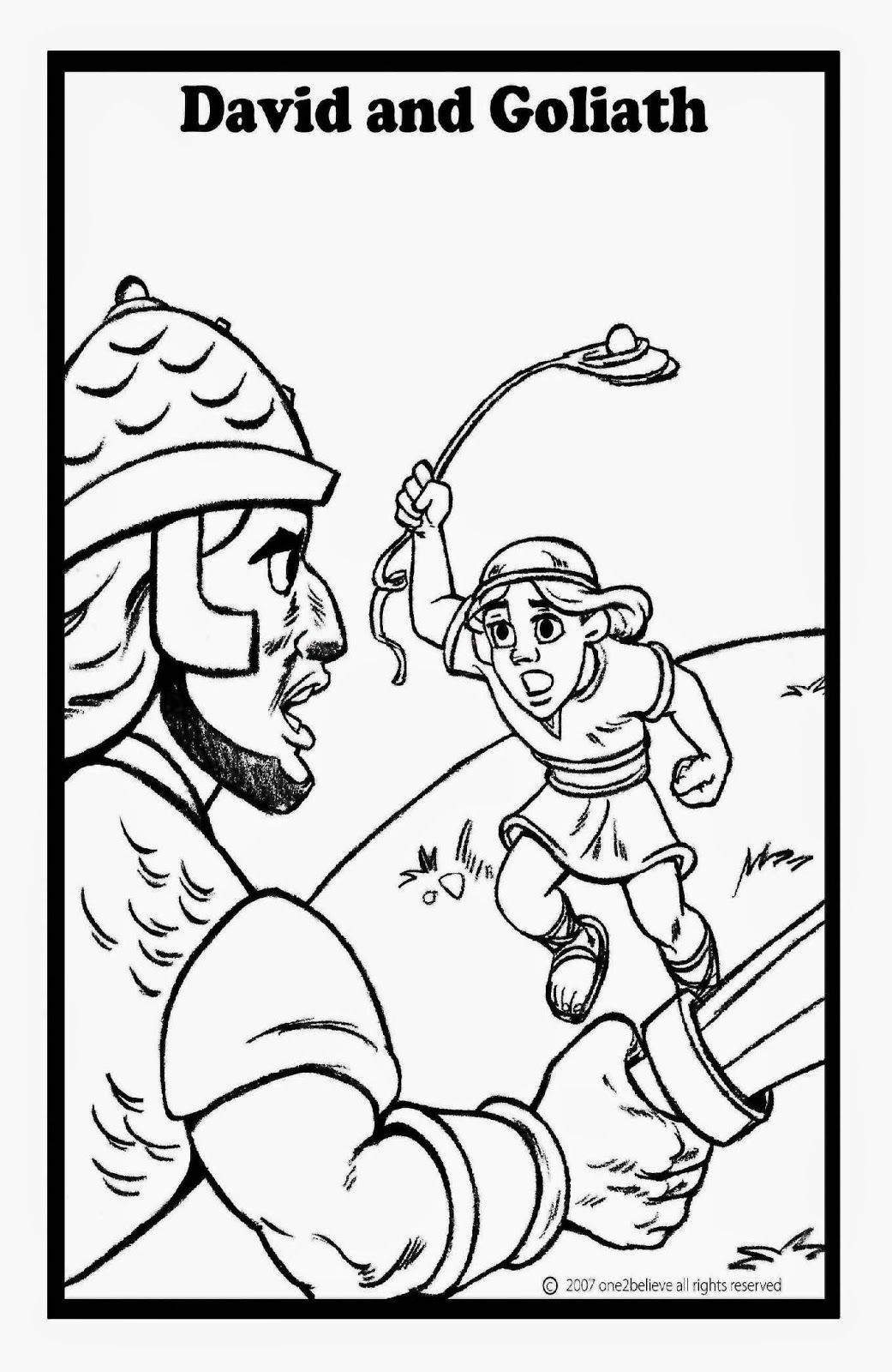 David And Goliath Coloring Pages Bible Coloring Pages Bible Coloring Sunday School Coloring Pages